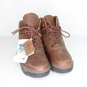 Vtg New Hi Tech Mens 9 Tacoma Hiking Boots Brown